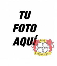 Foto efecto para fotos para poner el escudo del Bayer Leverkusen en tu foto