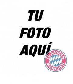 Fotomontaje del escudo del Bayern Munich en tu foto