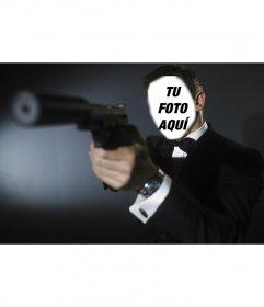 Fotomontaje de James Bond (Daniel Craig) Foto montaje para poner tu foto en James Bond