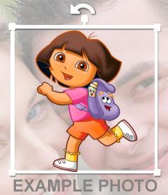Pegatina de Dora la Exploradora