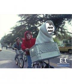 Fotomontaje de E.T. para poner tu cara en la del extraterrestre