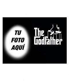 Fotomontaje para poner tu foto en el cartel de la película El Padrino