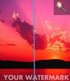 Poner marca de agua a tus fotos online gratis