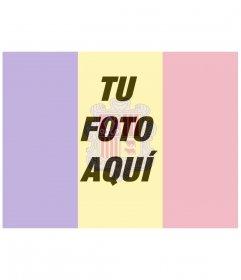 La bandera de Andorra como filtro para tu foto de perfil gratis