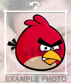 Big Bird para poner encima de tus fotos si te gusta Angry Birds