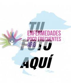 Apoya las enfermedades poco frecuentes en Argentina, poniéndote su logo en tu foto