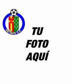 Avatar para redes sociales con el escudo del Getafe Fútbol Club