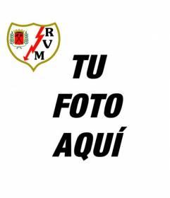 Escudo del Rayo Vallecano de Madrid para poner en tu foto