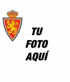 Escudo del equipo de fútbol de Zaragoza para colocar en tu imagen de perfil de Facebook