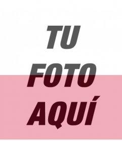 Filtro de la bandera de Polonia para añadir encima de tus fotos