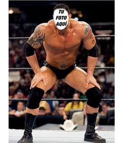 Fotomontaje con el popular luchador Batista para ponerle tu cara