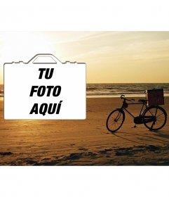Fotomontaje para poner una foto y decir que tienes ganas viajar