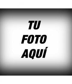 Filtro fotográfico para aplicar a una imagen digital, que consiste en un borde para foto negro degradado como si de un editor de imágenes se tratara
