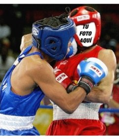 Montaje fotográfico que te permitirá verte como un boxeador profesional