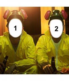 Fotomontaje para poner tu cara en los personajes de Breaking Bad
