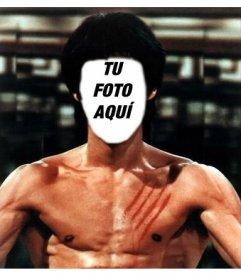 Fotomontajes de Bruce Lee con tus fotos