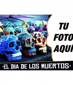 Collage para el Día de los muertos