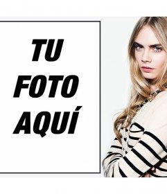 Fotomontajes online con la modelo Cara Delevigne