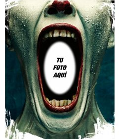 Fotomontaje de Twisty de American Horror Story