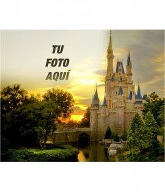 Fotomontaje para poner tu foto junto a un castillo de cuento