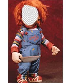 Fotomontaje de Chucky para poner tu cara