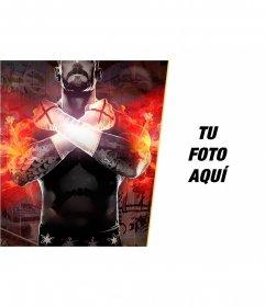 Collage con CM Punk