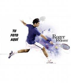 Collage de Roger Federer