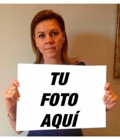 Creador online del meme de María Dolores de Cospedal