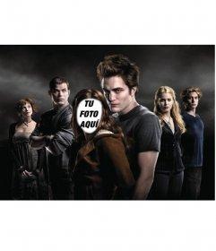 Pon la cara que quieras en el cuerpo de Bella, el personaje principal de Crepúsculo