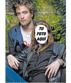 Fotomontaje para poner una cara a Kristen Stewart, con Robert Pattinson