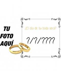 Descubre online cuando te vas a casar, cuando será tu boda?