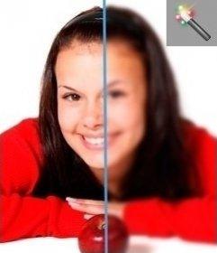 Filtro para difuminar fotografías online
