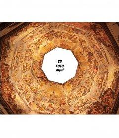 Fotomontaje para poner tu foto en la cúpula del Duomo