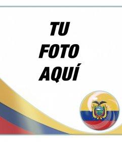 Efecto para añadir la bandera de Ecuador en tu foto