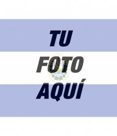Fotomontaje con imagenes de la bandera de el Salvador