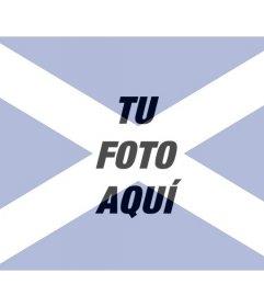 Collage especial con la bandera de Escocia