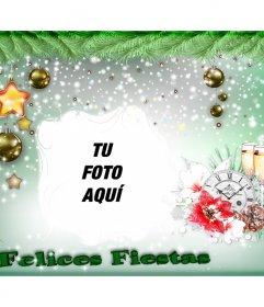 Felicitación de Navidad con tu foto