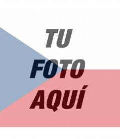 Filtro de la bandera de República Checa para añadir en tus fotos