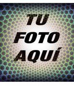 Fotomontaje de un filtro psicodélico para tus fotos y gratis