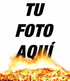 Pon en tus fotos el foto efecto de brasa y fuego. Parecerá que tus fotos se queman!