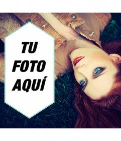 Marco de fotos con la princesa del Indie; Florence Welch