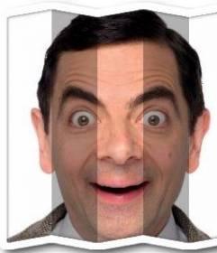Efecto para fotos que hace un efecto de doblar la imagen como si fuera un papel