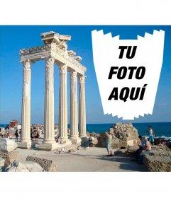 Postal de Antalya para tus fotos