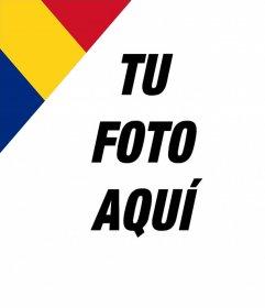 Bandera de Rumania para poner en una esquina de tus fotos gratis
