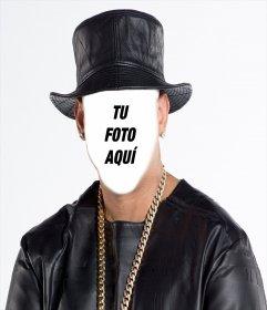 Pon tu cara en la cara del reggaetonero Daddy Yankee con este efecto