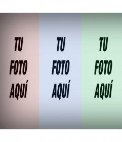 Tu foto repetida cuatro veces con un filtro de colores con este efecto