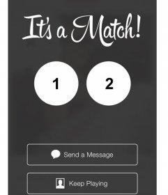 Edita este fotomontaje para hacer un perfect match de Tinder