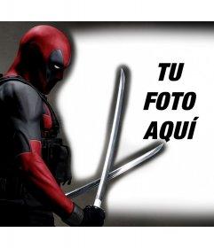 Deadpool en tus fotos con este fotomontaje gratis para editar