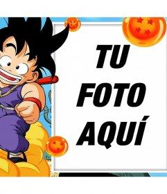 Fotomontajes y marcos con Son Goku