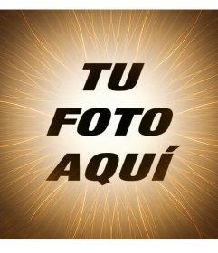 Foto efecto con el que agregarle un filtro de sol a tus fotos